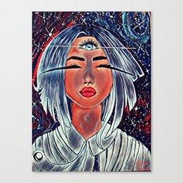 galactic vision v3 Canvas Print