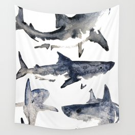 School or Shiver Wall Tapestry