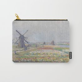 Tulip Fields near The Hague Carry-All Pouch