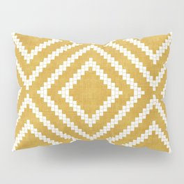 Loom in Gold Pillow Sham