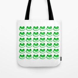 Smug Frogs Tote Bag