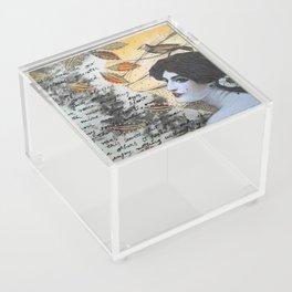 Romantic Lady Acrylic Box
