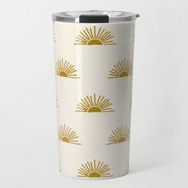 Sol in Natural Travel Mug