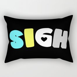 Sigh (Requiessexual/romantic) Rectangular Pillow