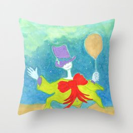 The Cryptid Carnival Throw Pillow