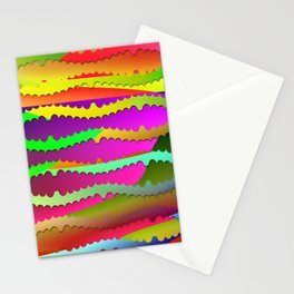 Artistic-fence-pattern Stationery Cards