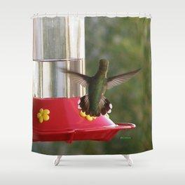 This Feeder is MINE! Shower Curtain