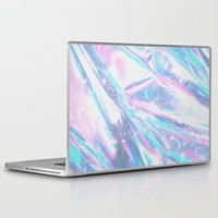 hologram Laptop & iPad Skins featuring Iridescence by Leah Moloney Photo
