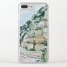 Positano Clear iPhone Case
