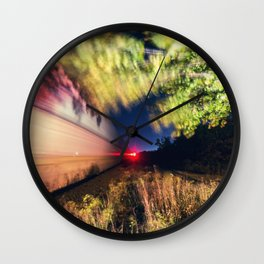Railroad of the Elm Wall Clock