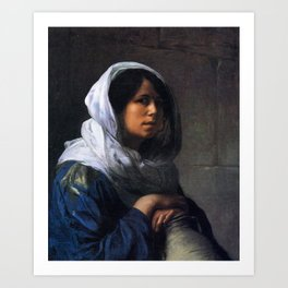 Jean-Leon Gerôme - Egyptian water carrier Art Print