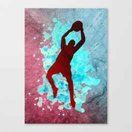 Soccer Goalkeeper Poster Canvas Print