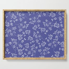 Gisophila blue Serving Tray
