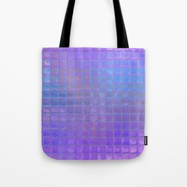 Iridescent Squares Tote Bag