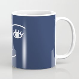 Wink / Navy Coffee Mug