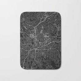Atlanta Black Map Bath Mat