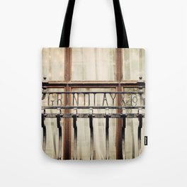 London Grille Tote Bag