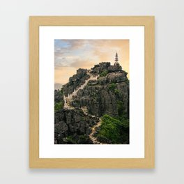 Vietnam Stunning View Framed Art Print