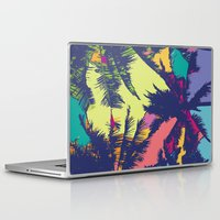 palm tree Laptop & iPad Skins featuring Palm tree by PINT GRAPHICS