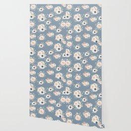 Dog Rose Pattern 3 Wallpaper