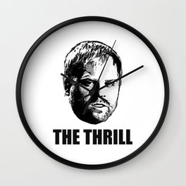 Phil  The Thrill  Kessel Wall Clock