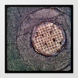 The sewer. Canvas Print