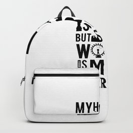 Verified traveller Tee Backpack