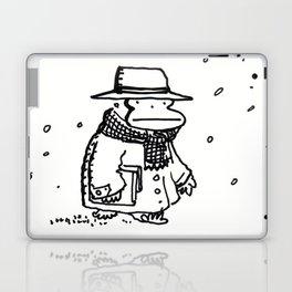Bundled Ape Returns Books in the Snow Laptop & iPad Skin