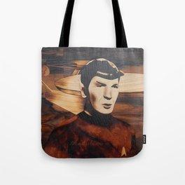 Leonard Nimoy alias Mr. Spock Tote Bag