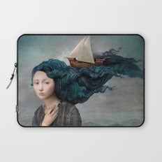 Message from the Sea Laptop Sleeve