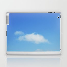 Snow and clouds in Iceland Laptop & iPad Skin