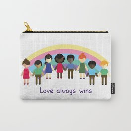 Love always wins Carry-All Pouch