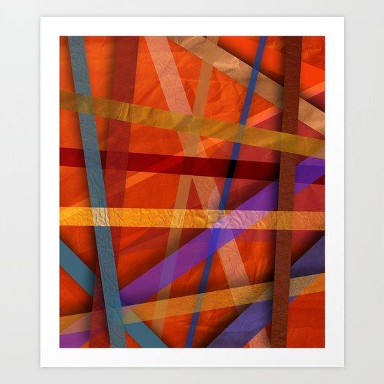 Abstract #366 Art Print