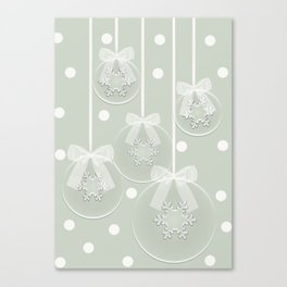 Snow balls Canvas Print
