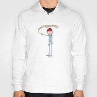 "steve zissou Hoodies featuring ""THIS IS AN ADVENTURE."" - Zissou by Derek Eads"
