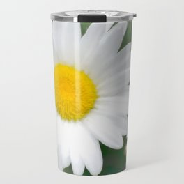 Daisies flowers in painting style 1 Travel Mug