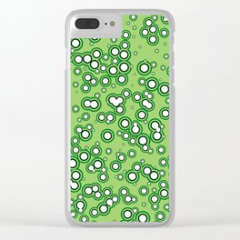 Bubble Space Clear iPhone Case
