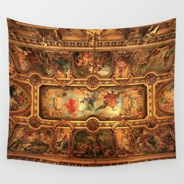 Midnight with Botticelli, Raphael, Michelangelo, & Perugino, Sistine Chapel, Rome Wall Tapestry
