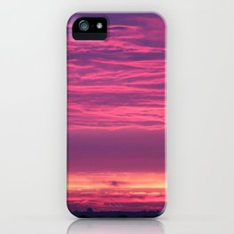 Midsummers Day Sunrise 2012 iPhone Case