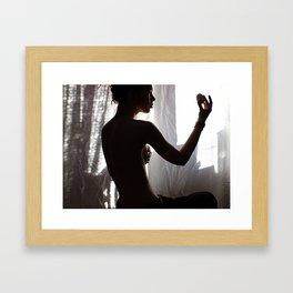 Life is elsewhere Framed Art Print