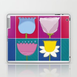 Four Flowers Laptop & iPad Skin