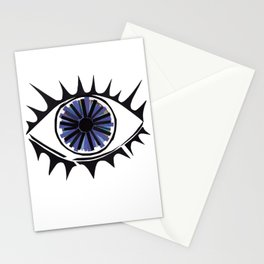 Blue Eye Warding Off Evil Stationery Cards