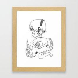 yup Framed Art Print