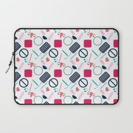 Contraception Pattern Laptop Sleeve