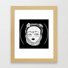 Crystal Witch Framed Art Print