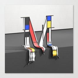 Surreal Letter M Canvas Print