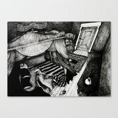 Ebenezer Scrooge Canvas Print