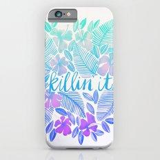 Killin' It – Turquoise + Lavender Ombré iPhone 6s Slim Case