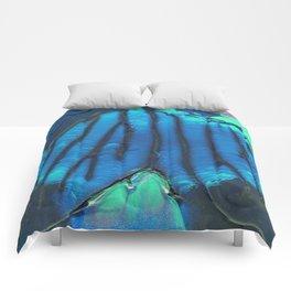 Blue Veins Comforters
