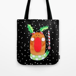 Red Nose Reindeer Tote Bag
